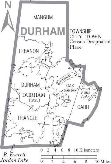 Durham County, North Carolina History, Genealogy Records: Deeds ...