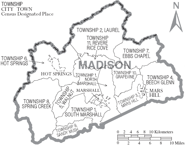 Madison County North Carolina History Genealogy Records Deeds