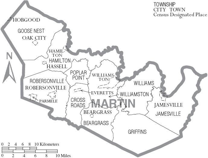 Martin County, North C...