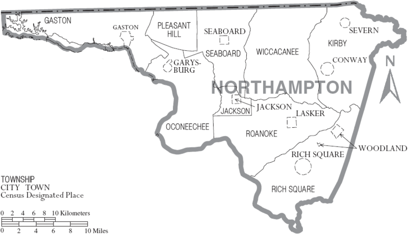 Northampton County North Carolina History Genealogy Records