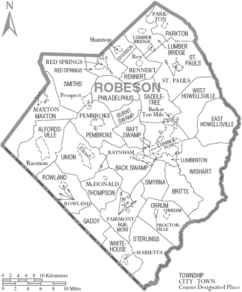 robeson county Settlement agreement between the united states of america and robeson county, north carolina, under the americans with disabilities act dj# 204-54-122.