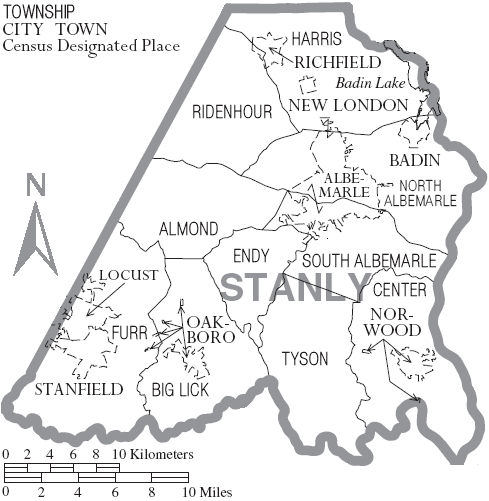 stanly county nc birth records