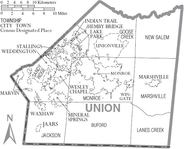 Union County North Carolina History Genealogy Records Deeds