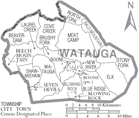 Watauga County, North Carolina History
