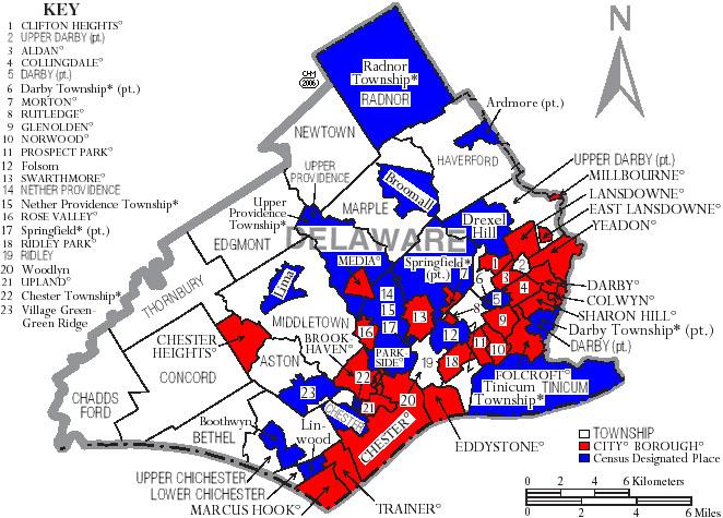 delaware county pa real estate records