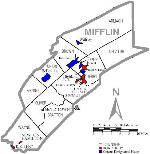 mifflin county death records 1920