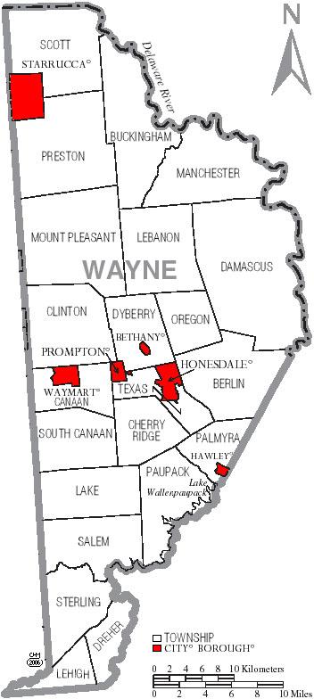 Wayne County Pennsylvania Genealogy Records Deeds