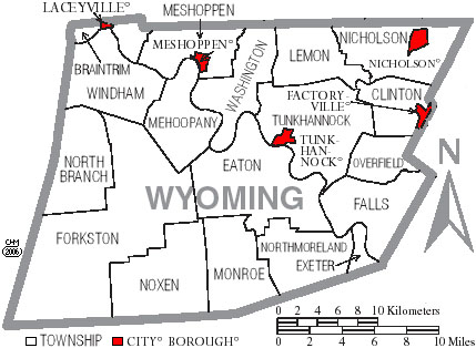 Wyoming County, Pennsylvania Genealogy Records: Deeds, Courts ...
