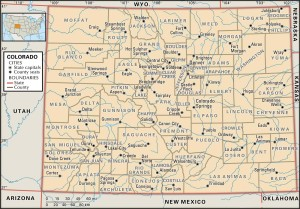 Co county 300x209 Maps of Colorado