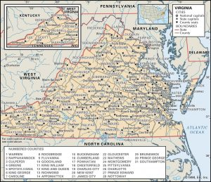 VA county 300x259 Maps of Virginia