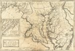 1795 Map of Maryland