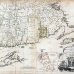 1776 Provinces of Connecticut, Connecticut and Rhode Island Atlas Map. (Southern section)