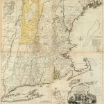 1776 New England Atlas Map