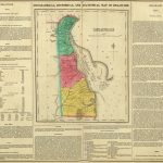 1822 Geographical, Historical, And Statistical Atlas Map Of Delaware
