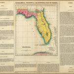 1822 Geographical, Historical, And Statistical Atlas Map Of Florida