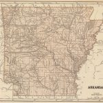 1845 Arkansas Atlas Map