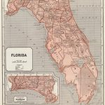 1845 Florida Atlas Map