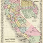 1856 California Atlas Map