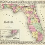 1856 Florida Atlas Map