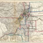1866 Map of Public Surveys in Colorado Territory
