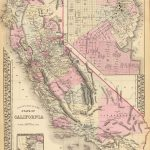 1880 County map of the state of California (with) San Francisco, (with) San Francisco Bay and vicinity