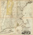 1776 New England Map