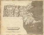 1804 Massachusetts Map