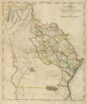 1814 Atlas Map of Georgia