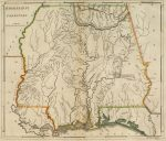 1814 Map of Mississippi Territory