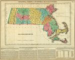 1822 Map Of Massachusetts