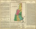 1822 Atlas Map Of New Hampshire