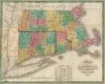 1827 Map of Massachusetts