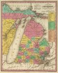 1836 Map Of Michigan