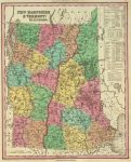 1836 Atlas Map Of New Hampshire