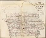 1866 Map Of Iowa