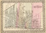 1880 Plan of Detroit