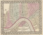 1880 Plan of New Orleans